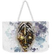 Punu Prosperity Mask Weekender Tote Bag