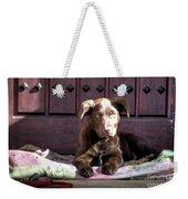 Pup Weekender Tote Bag