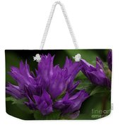 Puple Passion Weekender Tote Bag