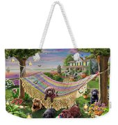Puppies And Butterflies Weekender Tote Bag