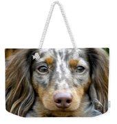 Puppy Dog Eyes Weekender Tote Bag
