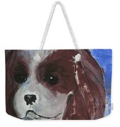 Puppy Doll Weekender Tote Bag
