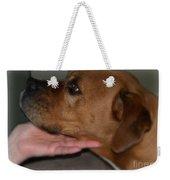 Puppy Loyalty Weekender Tote Bag