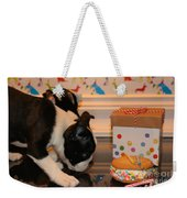 Puppy Party Weekender Tote Bag