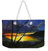 Purdy Sunset Weekender Tote Bag