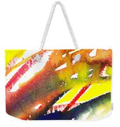 Pure Color Inspiration Abstract Painting Linea Forces Weekender Tote Bag