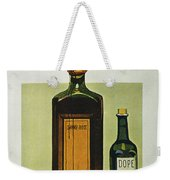 Pure Food Act, 1912 Weekender Tote Bag