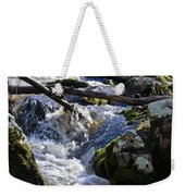 Pure Mountain Stream Weekender Tote Bag