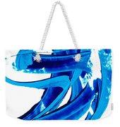 Pure Water 304 - Blue Abstract Art By Sharon Cummings Weekender Tote Bag