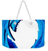 Pure Water 312 - Blue Abstract Art By Sharon Cummings Weekender Tote Bag