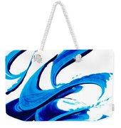 Pure Water 314 - Blue Abstract Art By Sharon Cummings Weekender Tote Bag