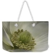Pureness In White Weekender Tote Bag