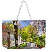 Purifying Walk Weekender Tote Bag