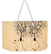 Purkinje Cells By Cajal 1899 Weekender Tote Bag