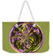 Purpble Wildflower Orb Weekender Tote Bag