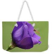 Purple 4 Weekender Tote Bag