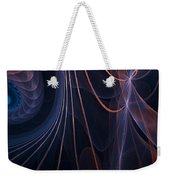 Purple Ablaze Weekender Tote Bag