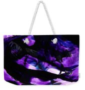 Purple Abstract Weekender Tote Bag