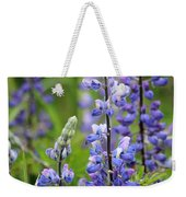 Purple Alaskan Lupines Weekender Tote Bag
