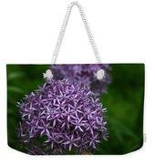Purple Allium Weekender Tote Bag