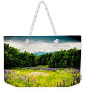 Purple And Mountains And Majesty Weekender Tote Bag
