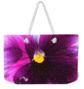 Purple And Pollen Weekender Tote Bag