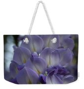 Purple And Violet Wisteria Blossom  Weekender Tote Bag