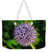Purple Ball Weekender Tote Bag