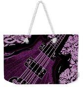Purple Bass Weekender Tote Bag