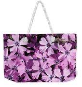 Purple Beauty Phlox Weekender Tote Bag