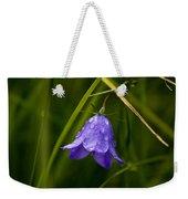 Purple Bell Weekender Tote Bag