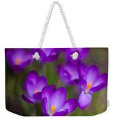 Purple Blanket Weekender Tote Bag