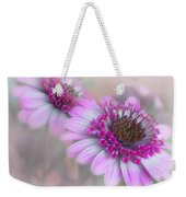 Purple Blooms Weekender Tote Bag