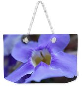 Purple Bokeh Weekender Tote Bag