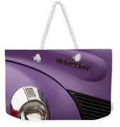 Purple Bomb Weekender Tote Bag