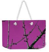 Purple Branches Weekender Tote Bag