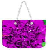 Purple Carnation Weekender Tote Bag