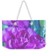 Purple Carnations Weekender Tote Bag
