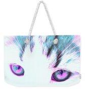 Purple Cat Eyes Weekender Tote Bag