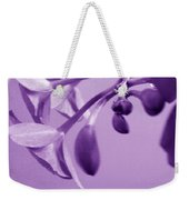 Purple Charm Weekender Tote Bag