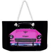 Purple Chevy Pop Art Weekender Tote Bag