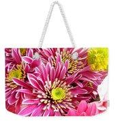 Purple Chrysanthemum Weekender Tote Bag