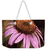 Purple Cone Flower II Weekender Tote Bag