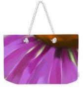 Purple Cone Weekender Tote Bag