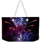 Purple Crown Weekender Tote Bag