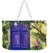 Purple Door Weekender Tote Bag