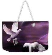 Purple Dream Weekender Tote Bag
