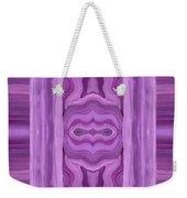 Purple Dreams Pattern Weekender Tote Bag