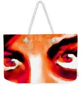 Purple Eyes - Marcello Cicchini Weekender Tote Bag
