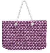 Purple Fabric Weekender Tote Bag